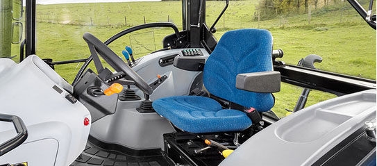New Holland T4S Kabine