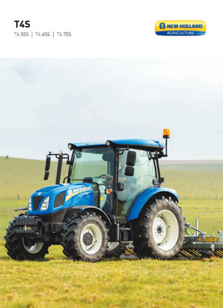 New Holland T4S Prospekt